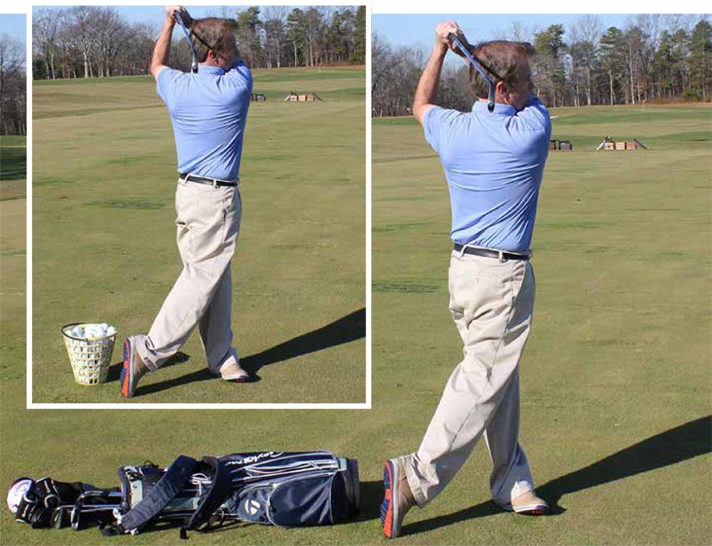 golf footwork substitutes