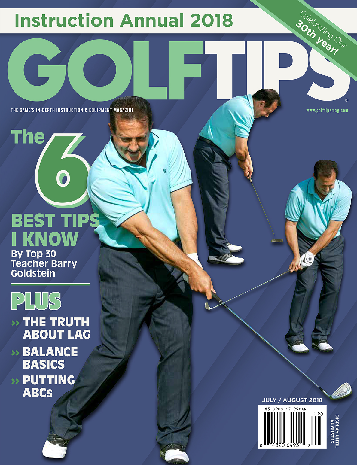 Golf Tips July-August 2018 Issue