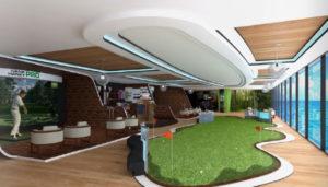 hank haney golf center on ship