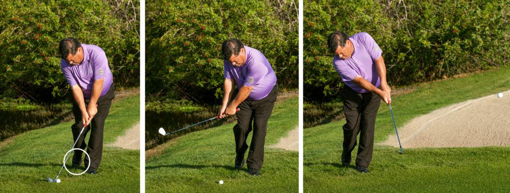 balance basics for golfers-stork stance