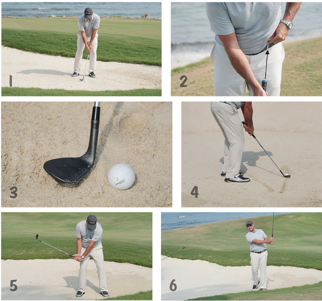 short game cheat sheet bunkers